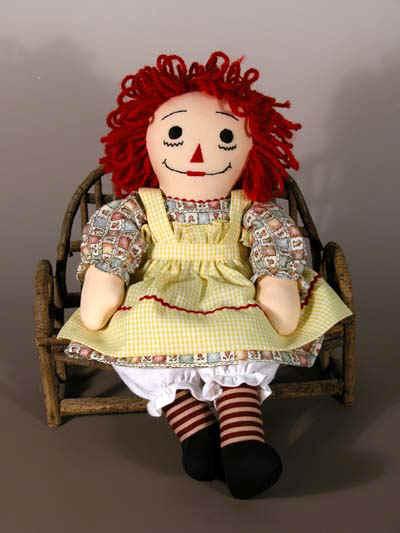 raggedy ann doll. Raggedy Ann